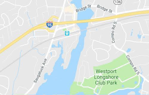 Westport CT Map